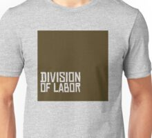 Division of Labor Logo (Brown Version) Unisex T-Shirt