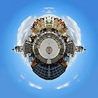 Little Planet: Notts Town Hall by Yhun Suarez