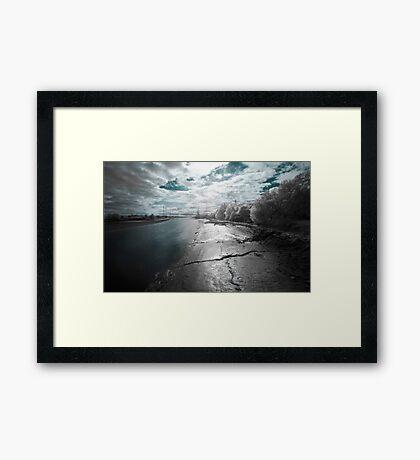 River Ribble, Preston, Lancashire Framed Print