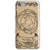 Mermaid Tarot: The World iPhone Case/Skin