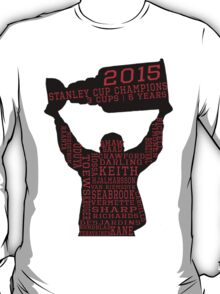 Chicago Blackhawks - 2015 Stanley Cup Champions T-Shirt