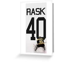 Tuukka Rask - Boston Bruins Greeting Card