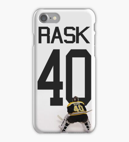Tuukka Rask - Boston Bruins iPhone Case/Skin