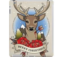 Christmas Stag iPad Case/Skin