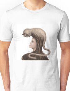 Feline Fedora Unisex T-Shirt