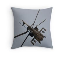 Apache WAH64D Throw Pillow