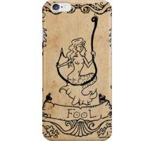 Mermaid Tarot: The Fool iPhone Case/Skin