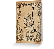 Mermaid Tarot: The Fool Greeting Card