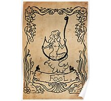 Mermaid Tarot: The Fool Poster