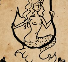 Mermaid Tarot: The Fool Sticker