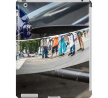 Reflection from an Auburn Bumper iPad Case/Skin
