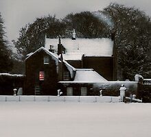 THE HOUSE IN THE SNOW II by Chris Clark