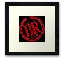 Battle Royale - Survival Program Framed Print