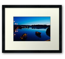 From the Hurley's Pier 7am  Framed Print