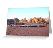 Desert Lot of Wadi Rum Greeting Card