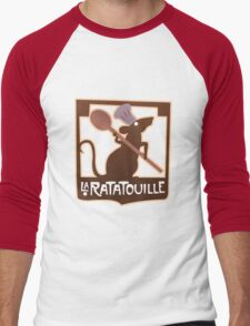 La Ratatouille Men's Baseball ¾ T-Shirt