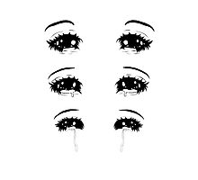 Teary Eyes Photographic Print