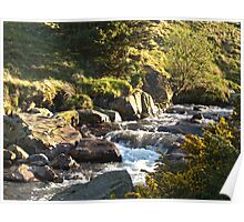 The River Caldew Poster