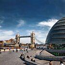 London Panorama by Frank Waechter