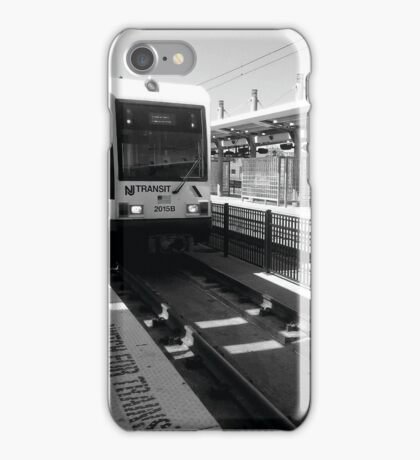 Watching for Trains  iPhone Case/Skin