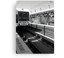 Watching for Trains  Canvas Print
