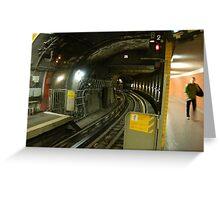 Champs Elysee Metro, Paris Greeting Card