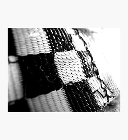 Checkered Flag Photographic Print