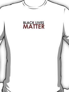 Black Lives Matter - Black Rights Design T-Shirt
