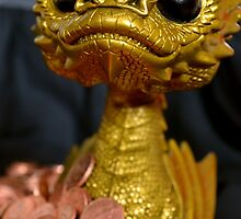 Golden Smaug Funko Pop  by Imperill