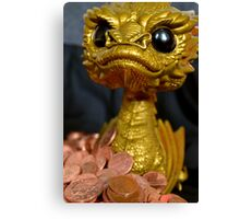 Golden Smaug Funko Pop  Canvas Print