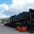 Black locomotive by zumi