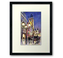 Prague Old Town Square 3 Framed Print