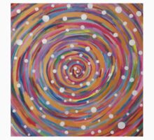 Spiral chaos and dots Kids Clothes