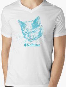 No Filter Mens V-Neck T-Shirt