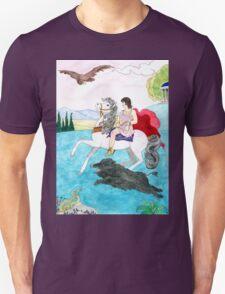 Antinous' boar hunt T-Shirt