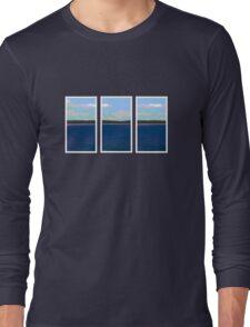 Ocean View - Triptych Long Sleeve T-Shirt