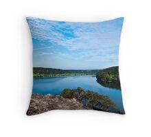 Shoalhaven River Throw Pillow