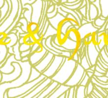 Peace Harmony Goddess Sticker