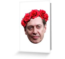 Buscemi Flower Crown Greeting Card