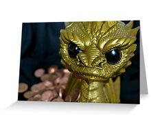 Smaug The Tyranipop Greeting Card