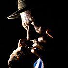 Little Sammy Davis Bathed In Light by John Rocklin