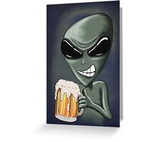 Beer It's What We're Drinking II Greeting Card