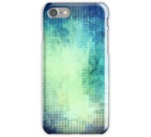 Blue Mosaic Abstract iPhone Case/Skin