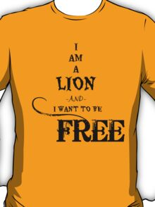 I Am A Lion  T-Shirt