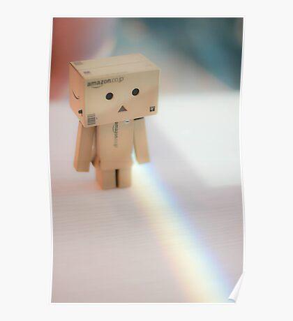 Danbo - Rainbow Poster