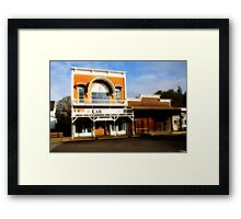 History in Brownsville Framed Print