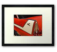 Car Fin Framed Print