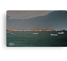 San Juan At Night Canvas Print
