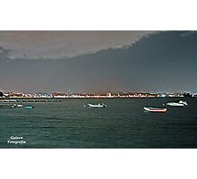 San Juan At Night Photographic Print