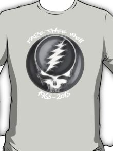 """Grateful Dead """"Fare The Well"""" 50th Anniversary Steal Your Face T-Shirt"""